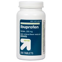 Ibuprofen (NSAID) Pain Reliever & Fever Reducer Tablets + $5 Gift Card