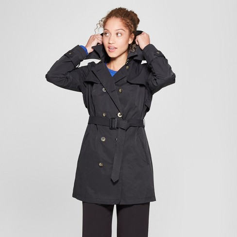 Women's Double Breasted Trench Coat - A New Day™ - image 1 of 3