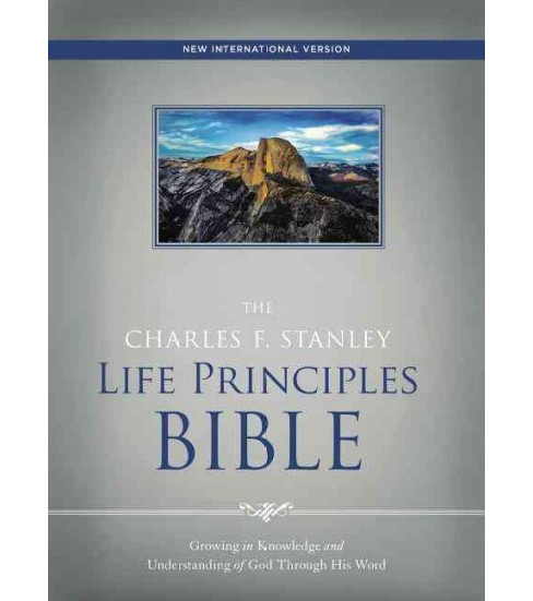 Charles F. Stanley Life Principles Bible : New International Version (Hardcover) - image 1 of 1