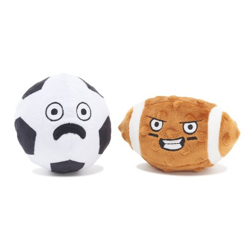 Bark Couple O Footballs Dog Toy - image 1 of 4