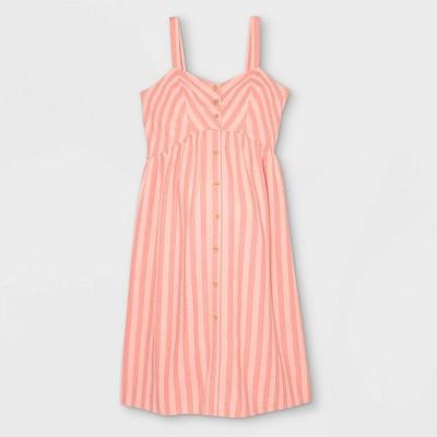 Sleeveless Linen Baby Doll Maternity Dress - Isabel Maternity by Ingrid & Isabel™
