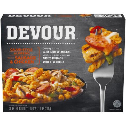 Devour Spicy Frozen Alfredo Pasta Meal - 10oz - image 1 of 3