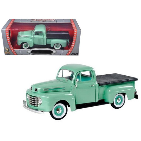 1948 Ford F1 Pickup Truck Green 1/18 Diecast Model Car by Road Signature - image 1 of 1