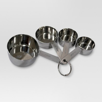 Stainless Steel Mixing Measuring Cup Set - Threshold™
