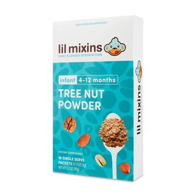 Lil Mixins Early Allergen Introduction Tree Nut Powder - 18ct/0.17oz Each