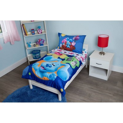 Toddler Blue's Clues Bedding Set