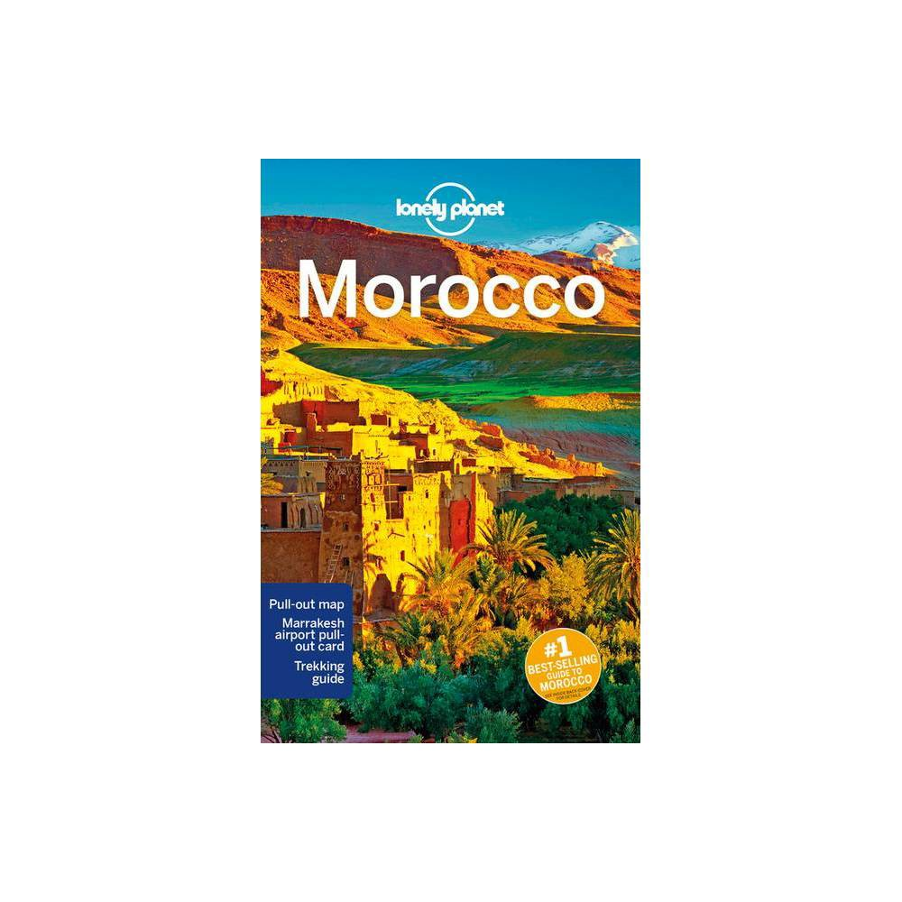 Lonely Planet Morocco Country Guide 13th Edition Paperback