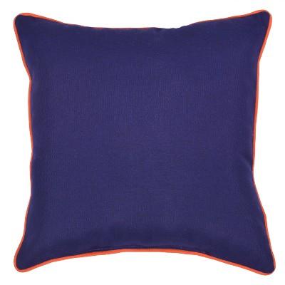 Outdoor Throw Pillow Square - Navy/Orange - Threshold™