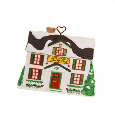 """Holiday Ornaments 3.0"""" The House That Love Built Ronald Mcdonald House  -  Tree Ornaments"""