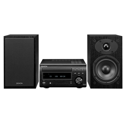 Denon D-M41 Hi-Fi System with CD, Bluetooth, and AM/FM Tuner - image 1 of 3