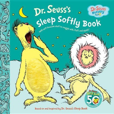 Dr. Seuss's Sleep Softly Book - (Dr. Seuss Nursery Collection)(Board_book)