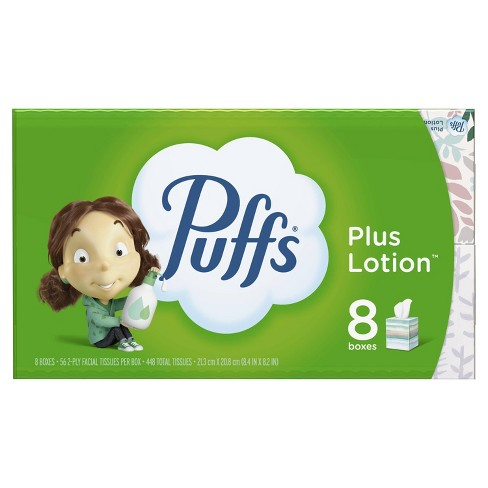 Puffs Plus Lotion Facial Tissue - 8pk - image 1 of 4