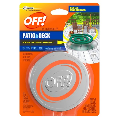 OFF!® Coil Starter Mosquito Repellent - 3ct - image 1 of 1