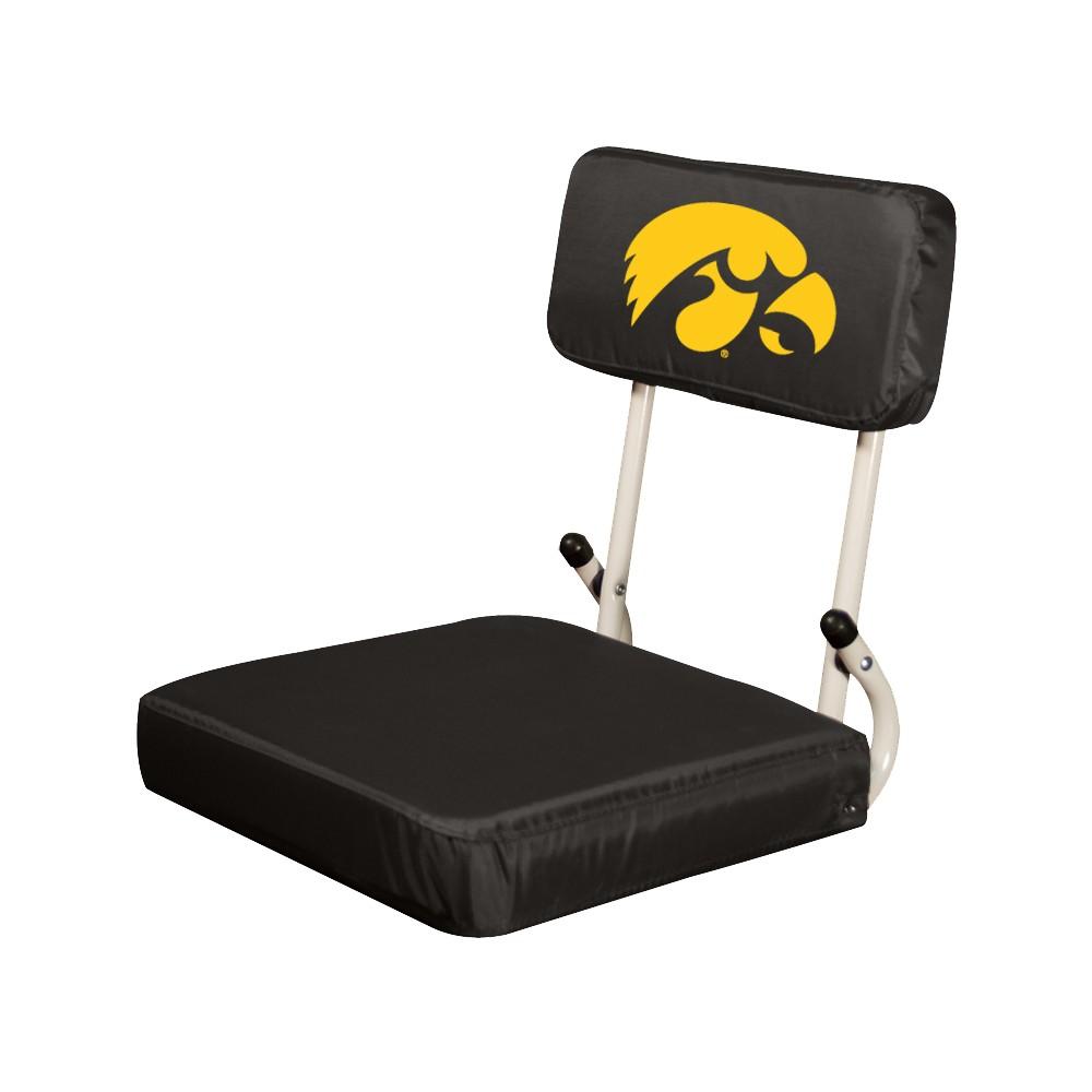 Ncaa Iowa Hawkeyes Hardback Stadium Seat Cushion