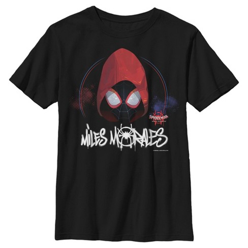 Marvel Boys' Spider-Man: Into the Spider-Verse Hooded Miles T-Shirt - image 1 of 1