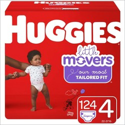 Huggies Little Movers Diapers Huge Pack - (Select Size)