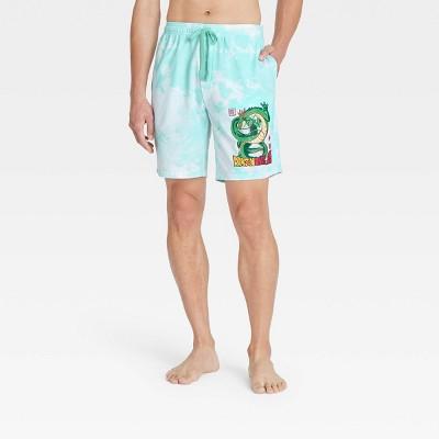 Men's Dragon Ball Z Pajama Shorts - Light Blue