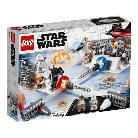 LEGO Star Wars Action Battle Hoth Generator Attack 75239 image number null