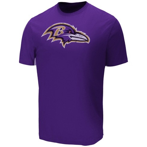 NFL Baltimore Ravens Men's Target Sueded Cotton T-Shirt - image 1 of 2