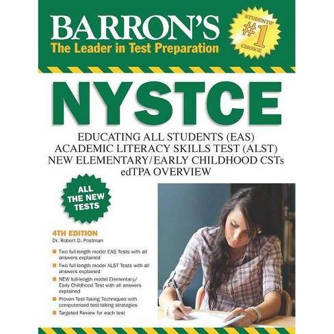 Barron's NYSTCE - (Barron's Test Prep NY) 4by Robert D Postman (Paperback)