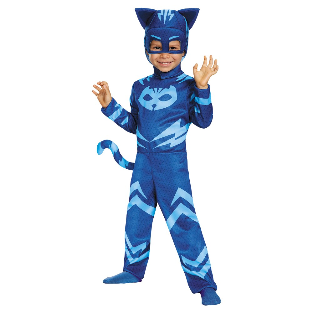 Image of Halloween Boys' Catboy Classic Toddler Costume X - Small 4 - 6, Toddler Boy's, Size: XS (4-6), MultiColored