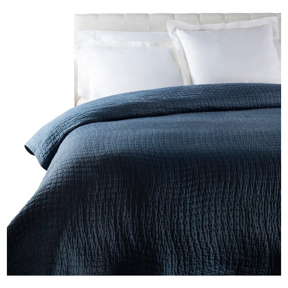 Belovo Luxury Bedding Duvet (Full/Queen) Navy (Blue) - Surya