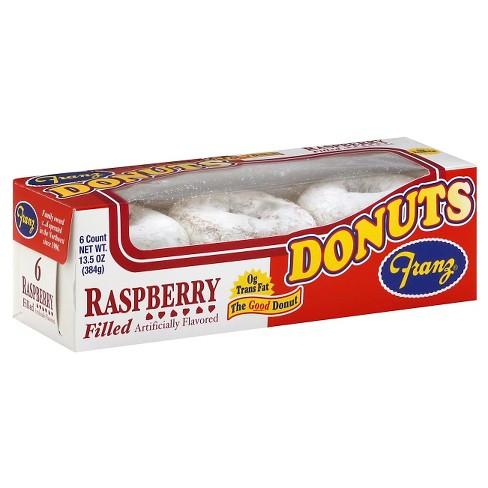 Franz Donuts Raspberry Donut - 6ct/13.5oz - image 1 of 1