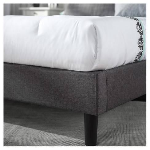 866cde1a938ca Dupont Tufted Upholstered Platform Bed - Queen - Dark Gray - Sleep  Revolution. Shop all Zinus. This item has 2 photos submitted from guests  just like you!