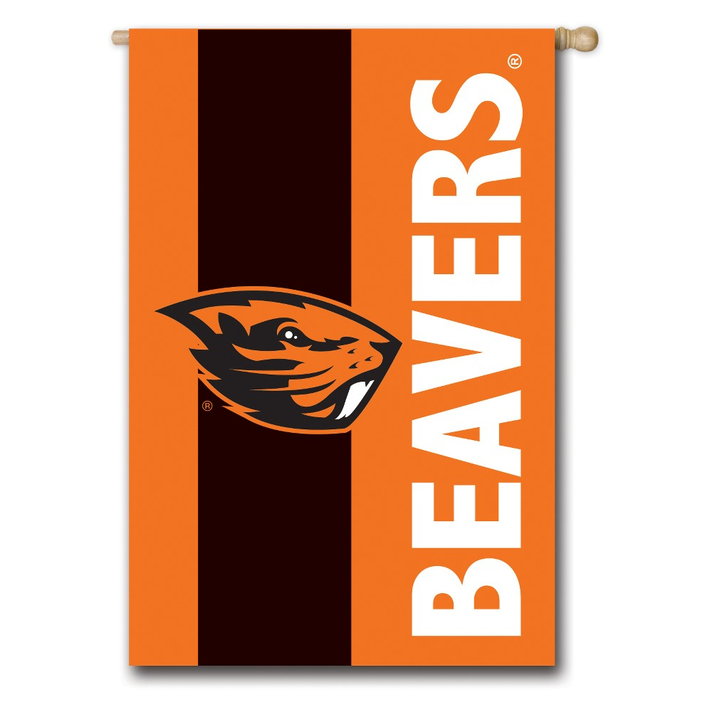 Oregon State Beavers Embellished House Flag