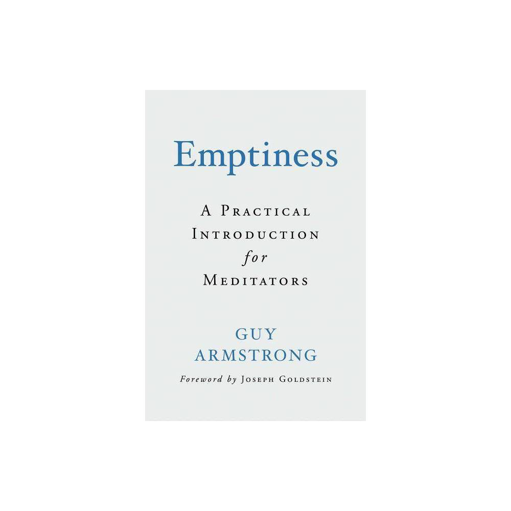 Emptiness By Guy Armstrong Hardcover