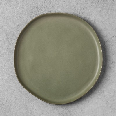 Stoneware Dinner Plate - Green - Hearth & Hand™ with Magnolia
