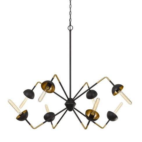 60W X 8 Ravenna Metal Chandelier Ceiling Light (Edison Bulbs Not Included) - Cal Lighting - image 1 of 2