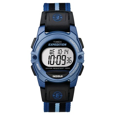 Timex Expedition  Digital Watch with Nylon Strap - Blue TW4B023009J