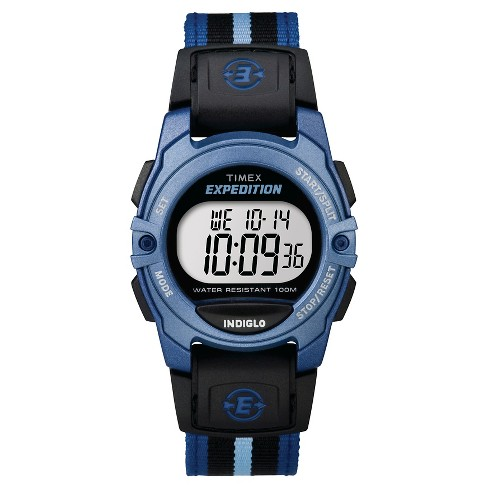 Timex Expedition®  Digital Watch with Nylon Strap - Blue TW4B023009J - image 1 of 1