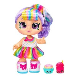 Kindi Kids Snack Time Friends Doll - Rainbow Kate