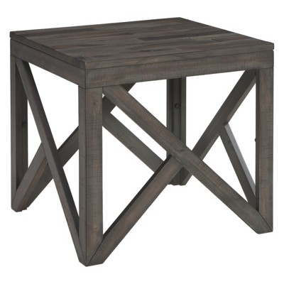 Haroflyn Square End Table Gray - Signature Design by Ashley