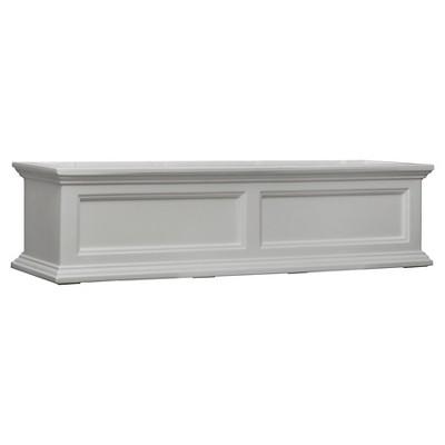 4' Rectangular Fairfield Window Box White - Mayne