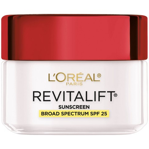 L'Oreal Paris Revitalift Anti-Wrinkle + Firming Day Cream SPF 25 - 1.7oz - image 1 of 4
