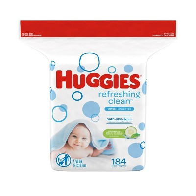 Baby Wipes: Huggies One & Done Refreshing