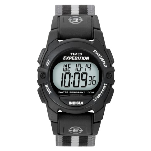 Timex Expedition Digital Watch with Nylon Strap - Black/Gray T49661JT - image 1 of 3