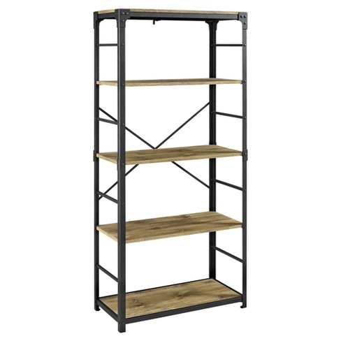 "Angle Iron Bookshelf 64"" - Saracina Home® - image 1 of 4"