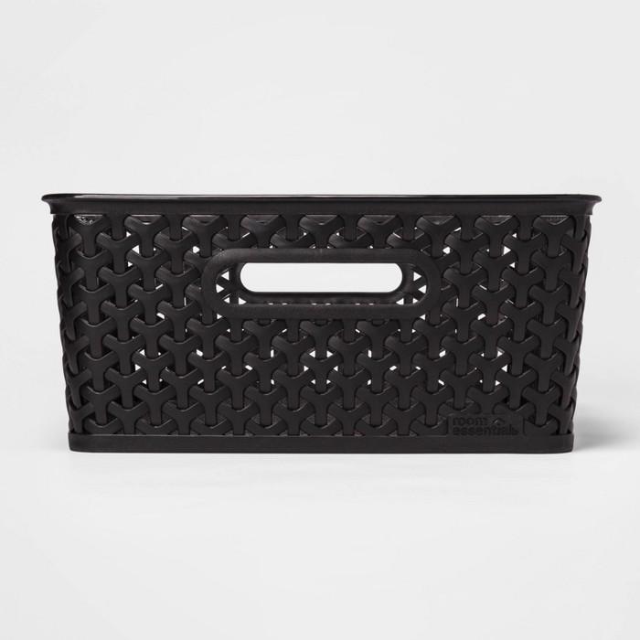 Y-Weave Medium Rectangle Bin - Room Essentials™ - image 1 of 3
