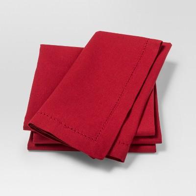 Napkin Red 4pk - Threshold™