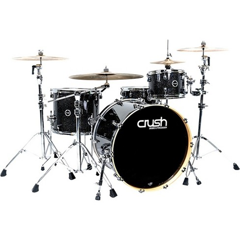 """Crush Drums & Percussion Sublime E3 Maple 4-Piece Shell Pack with 24x17"""" Bass Drum - image 1 of 2"""