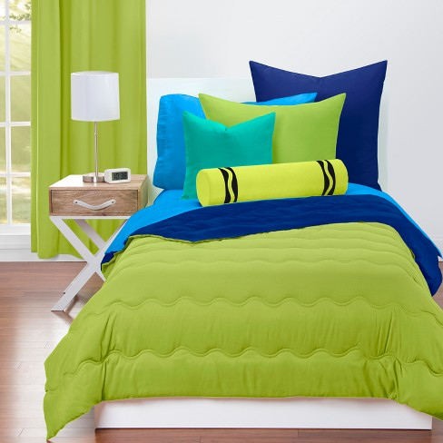 Crayola Spring Green Comforter Sets Full Queen Target