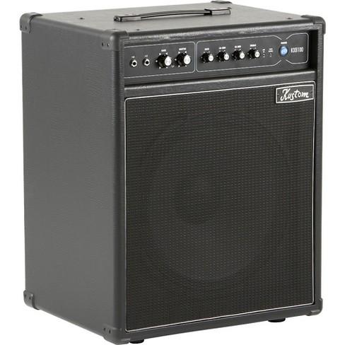 Kustom KXB100 100W 1x15 Bass Combo Amp Black - image 1 of 4