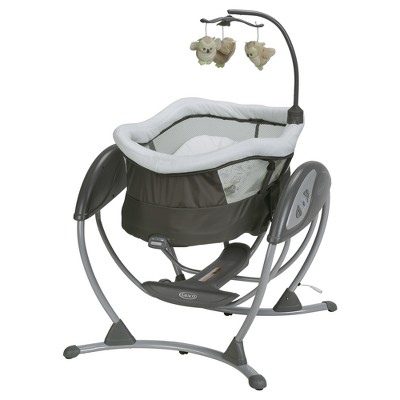 Graco® DreamGlider™ Gliding Swing & Sleeper Baby Swing - Percy