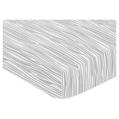 Sweet Jojo Designs Fitted Crib Sheet - Woodland Animals