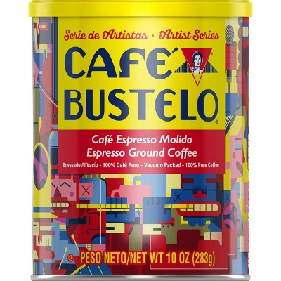 Café Bustelo Espresso Dark Roast Ground Coffee - 10oz