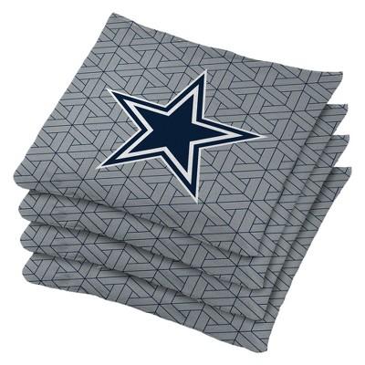 Dallas Cowboys 4pk Bean Bag Set - Gray